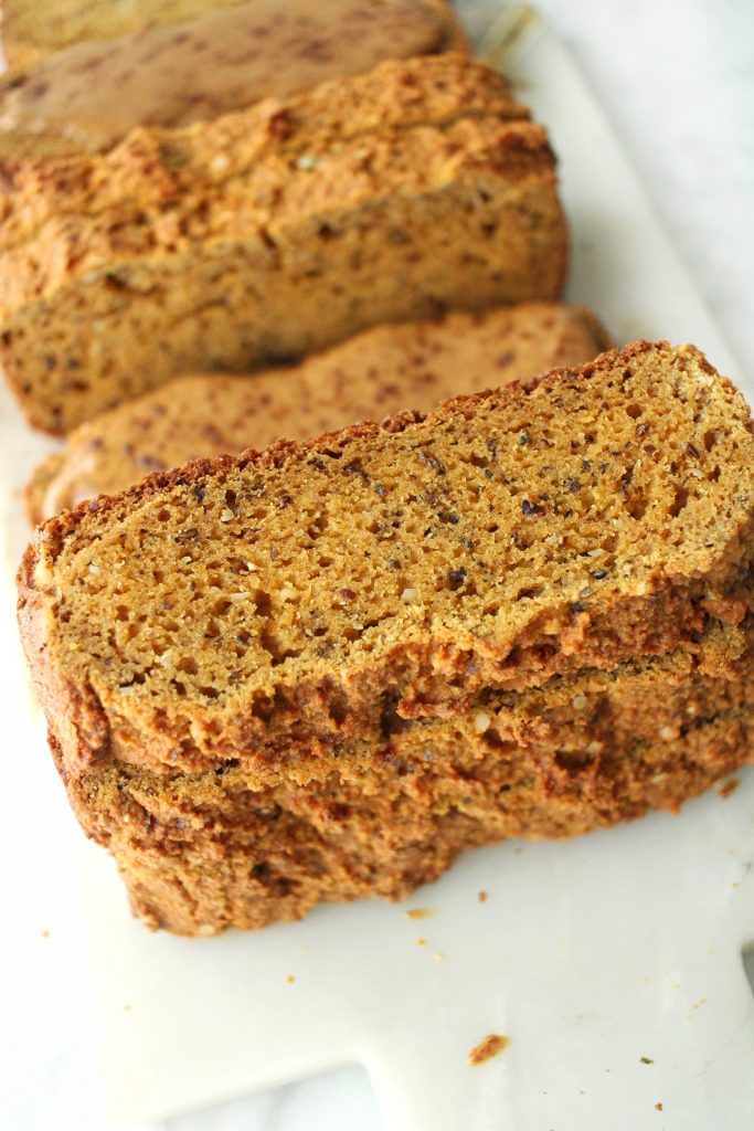 best healthy pumpkin banana bread