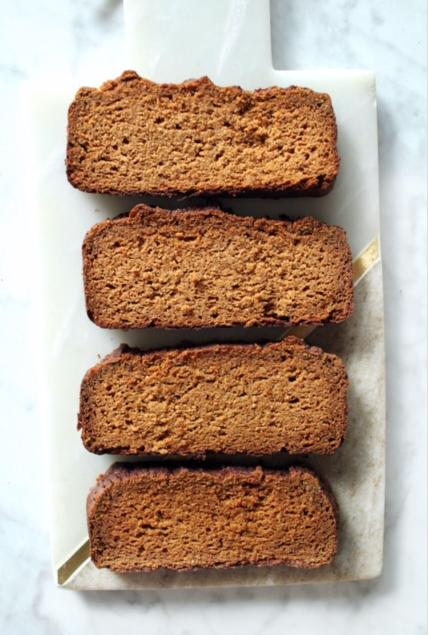 healthy and easy pumpkin bread