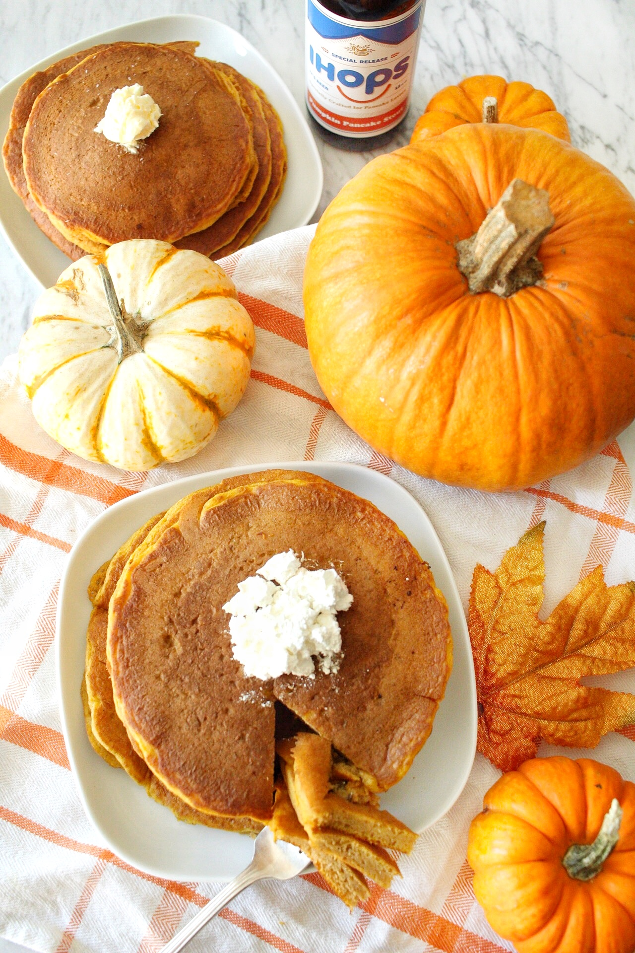 Pumpkin Pancakes at IHOP | Once Upon a