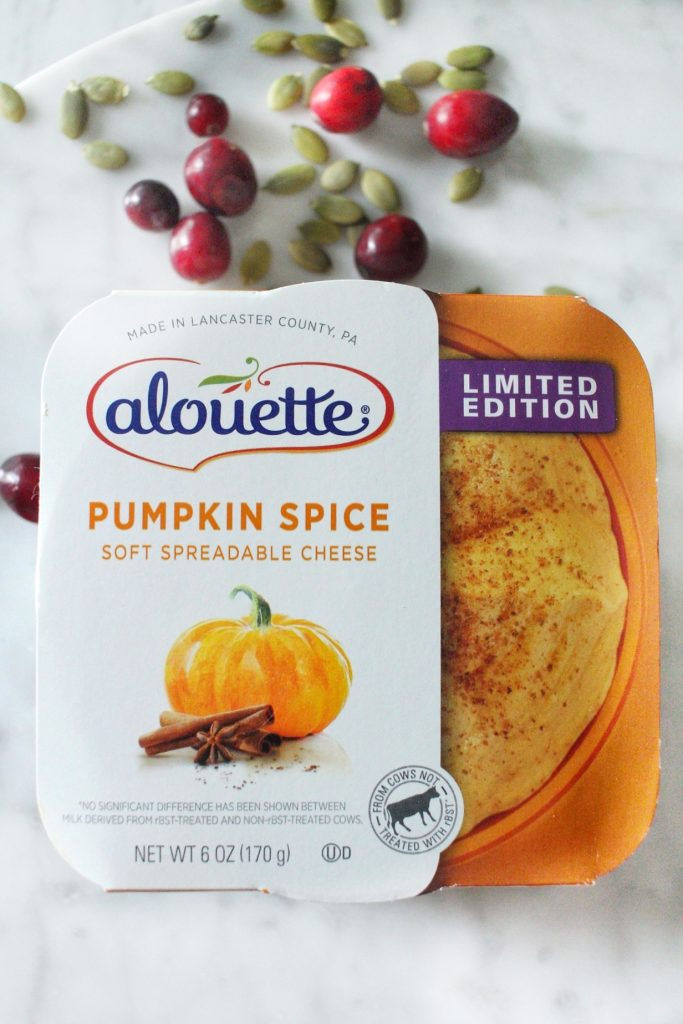 pumpkin crepes with pumpkin spice cheese