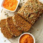 carrot pumpkin breakfast bread