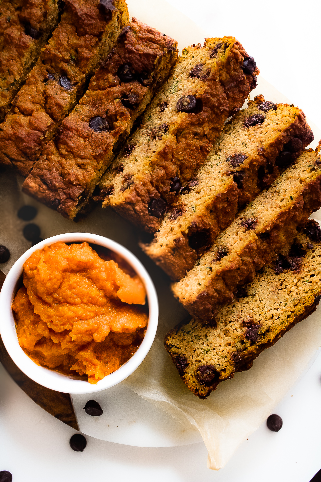 grain free pumpkin zucchini bread