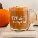 Pumpkin Spice Oat Milk Latte
