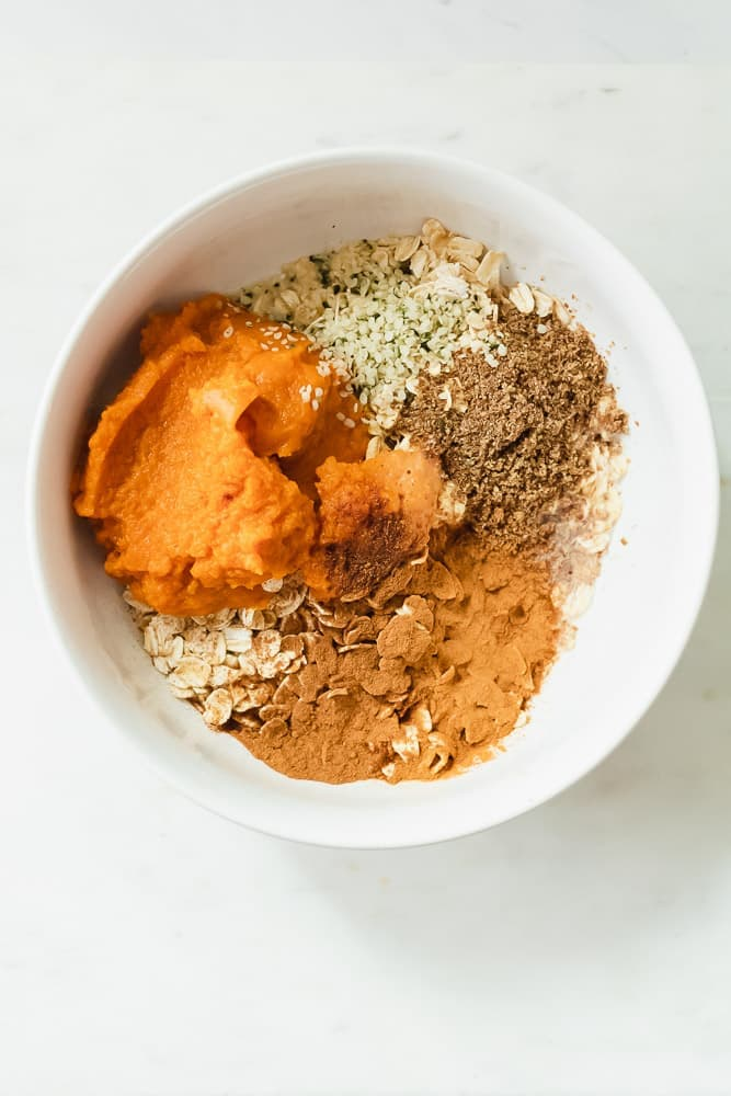 how to make pumpkin overnight oatmeal