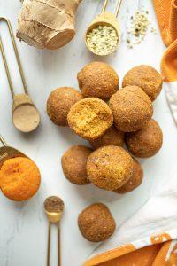 pumpkin superfood balls