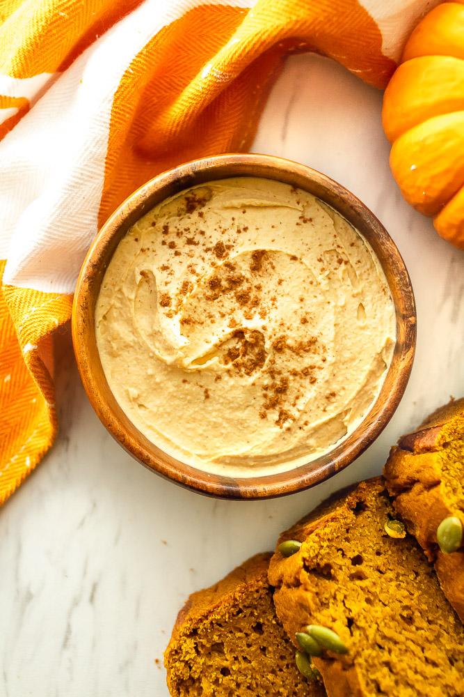 Vegan Pumpkin Spice Cream Cheese Once Upon A Pumpkin