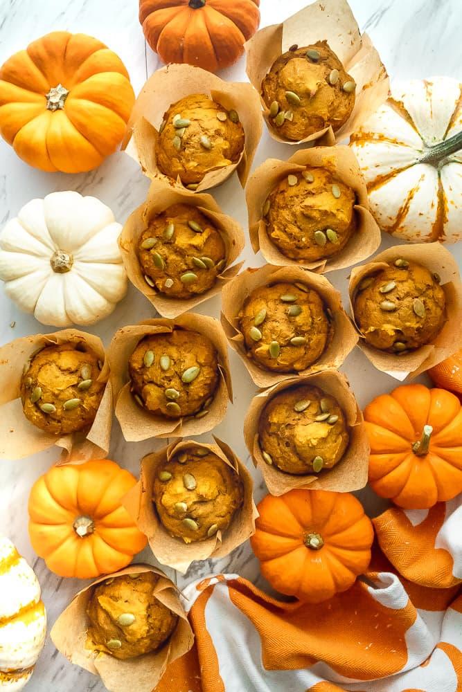 best pumpkin spice muffins