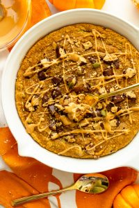 how to make a pumpkin cookie skillet