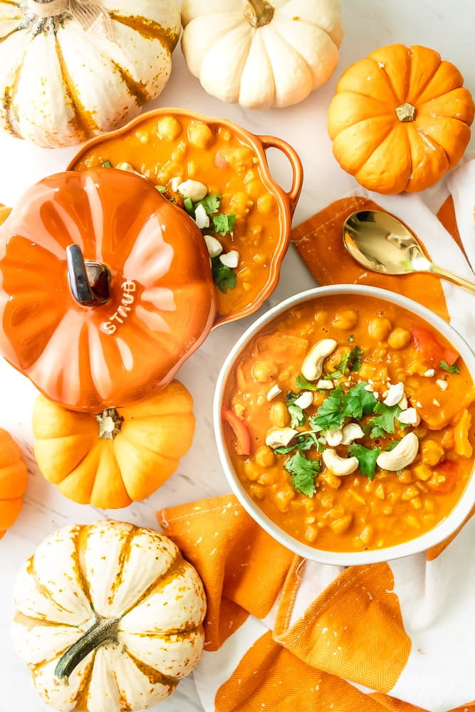 how to make pumpkin curry