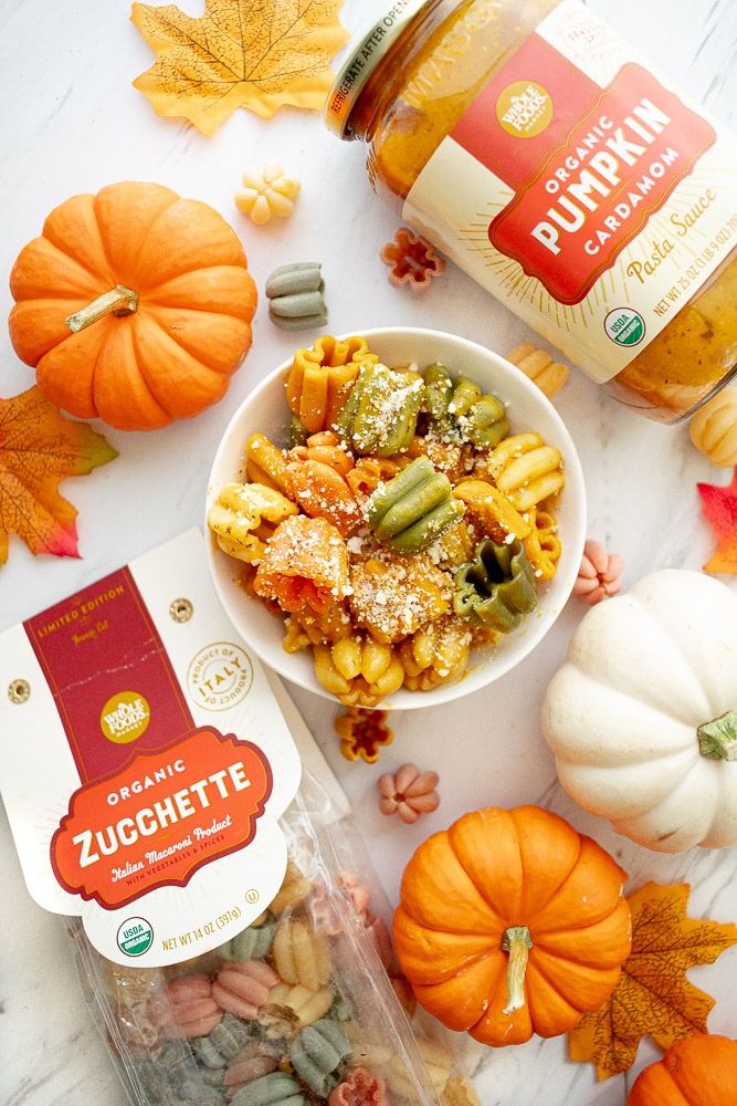 pumpkin pasta at whole foods