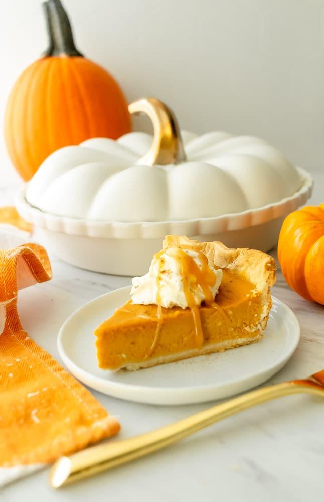 coffee pumpkin pie