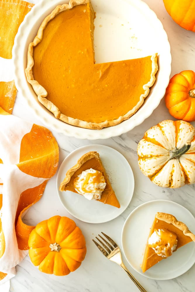 pumpkin spice latte pie recipe