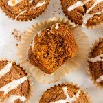 almond flour gingerbread muffins