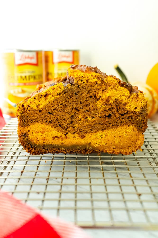 pumpkin bread made with libbys