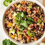 healthy mexican cauliflower rice