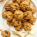 soft peanut butter banana cookies