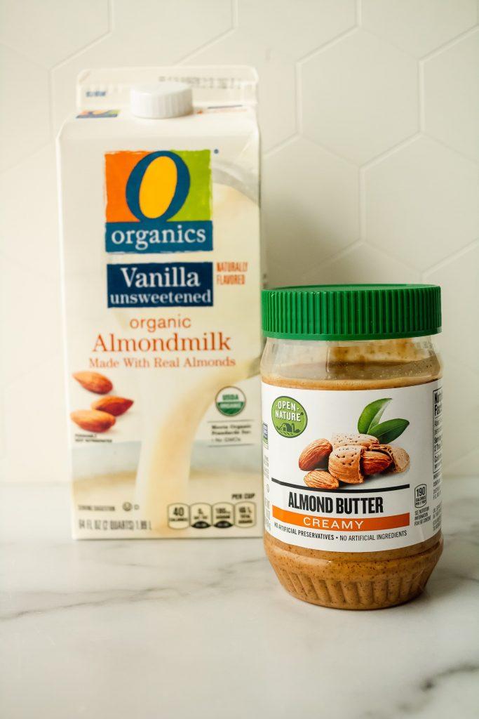 O Organics® Almondmilk Vanilla Unsweetened and O Organics Creamy Almond butter