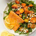 ginger citrus salmon with lemon, orange, and honey