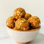pumpkin cookie protein balls