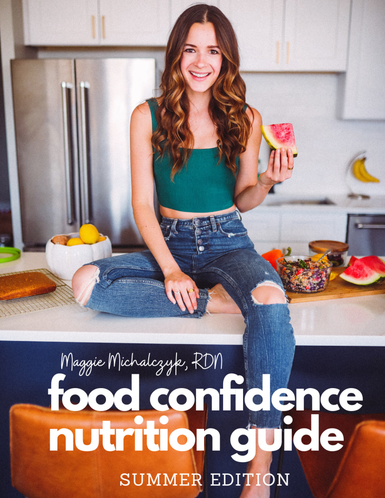 food confidence nutrition guide