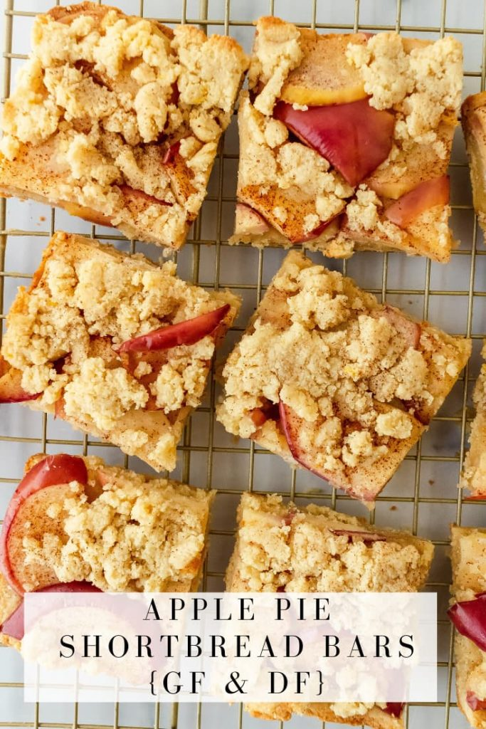 how to make apple pie shortbread bars