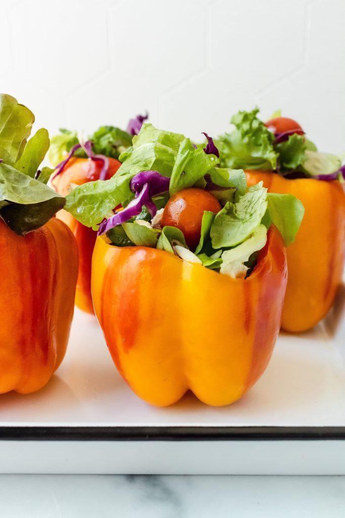 salad stuffed aloha peppers
