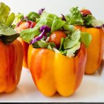 salad stuffed aloha peppers