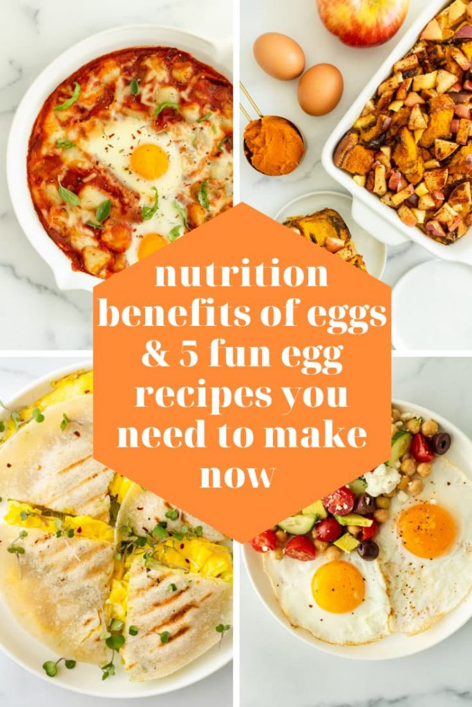 how to use eggs in fun ways for breakfast lunch, and dinner