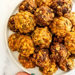 gluten and dairy free pumpkin no bake cookies
