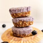 no bake mini blueberry cheesecake