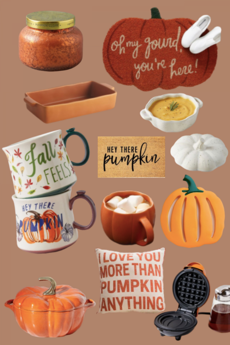 33 pumpkin home and beauty products for fall