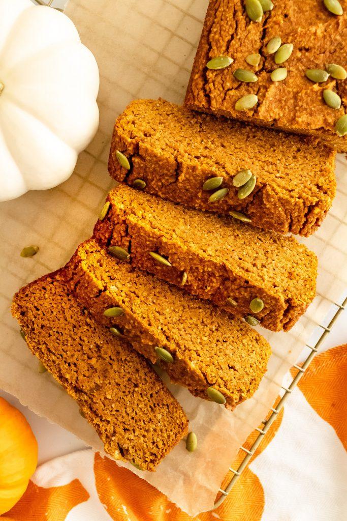 best delicious almond flour pumpkin bread