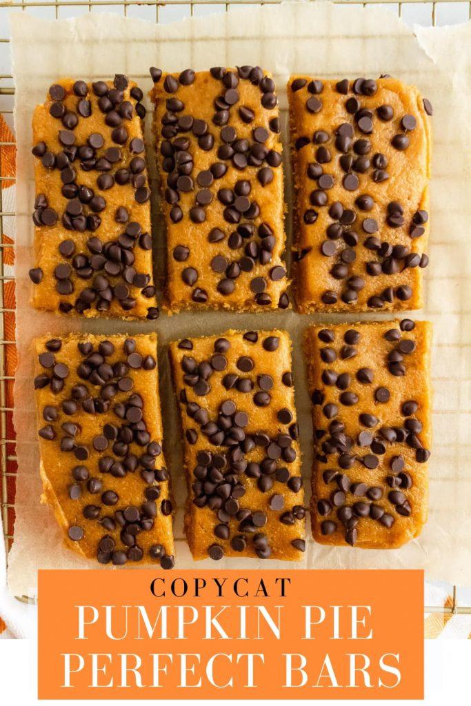 copycat pumpkin pie perfect bars