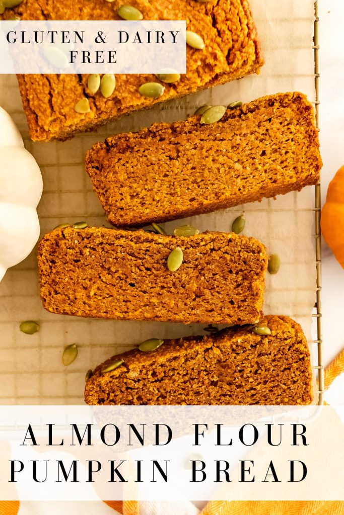 gluten and dairy free pumpkin bread