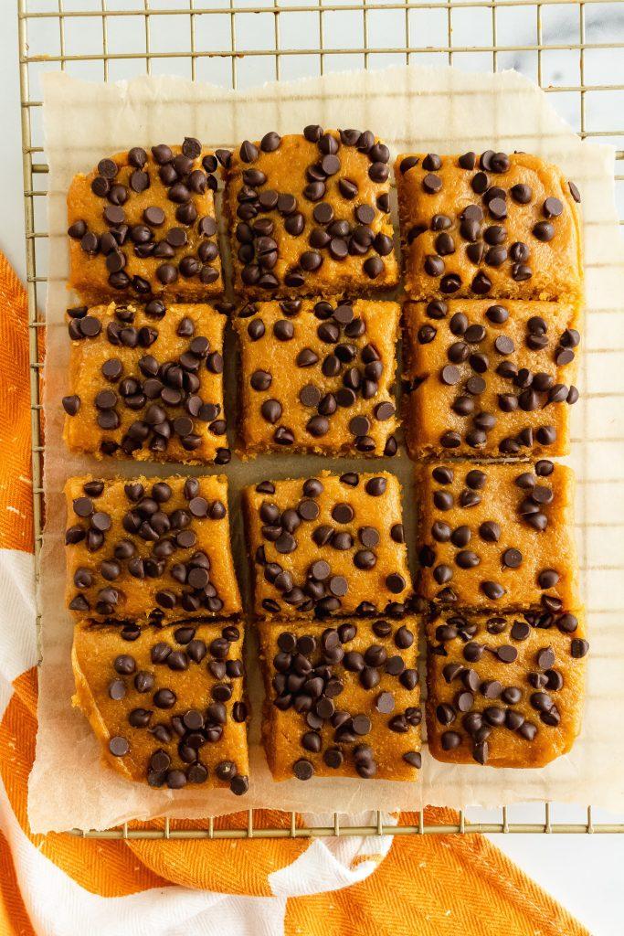 healthy homemade pumpkin perfect bars