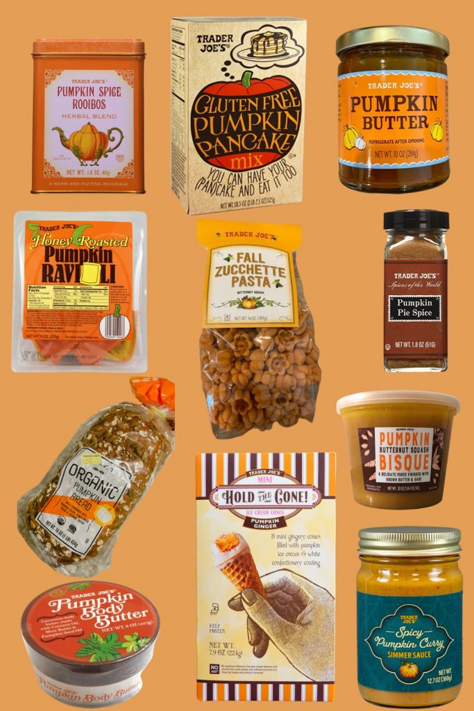 once upon a pumpkin favorite trader joes pumpkin items