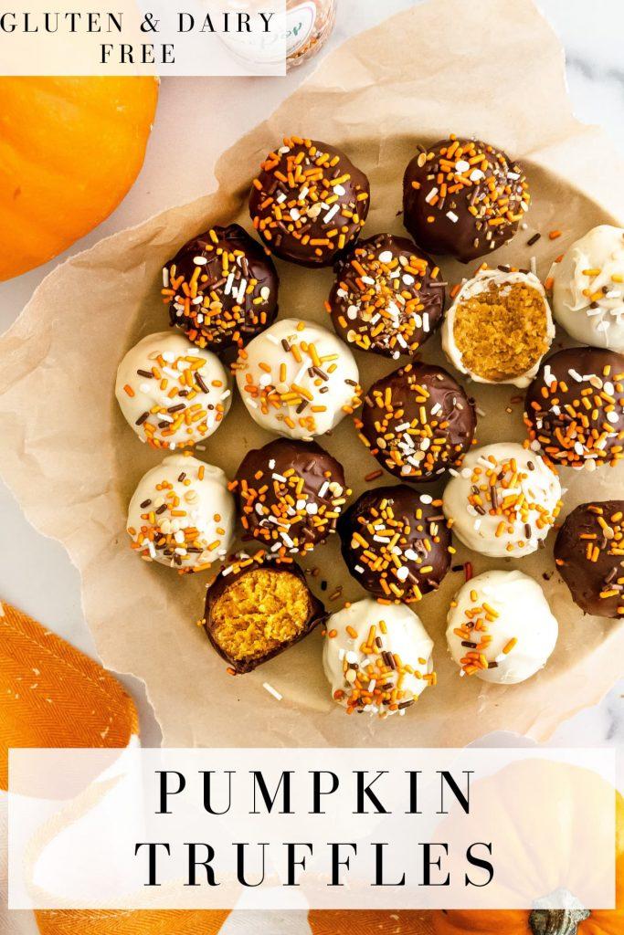 best healthy pumpkin truffles