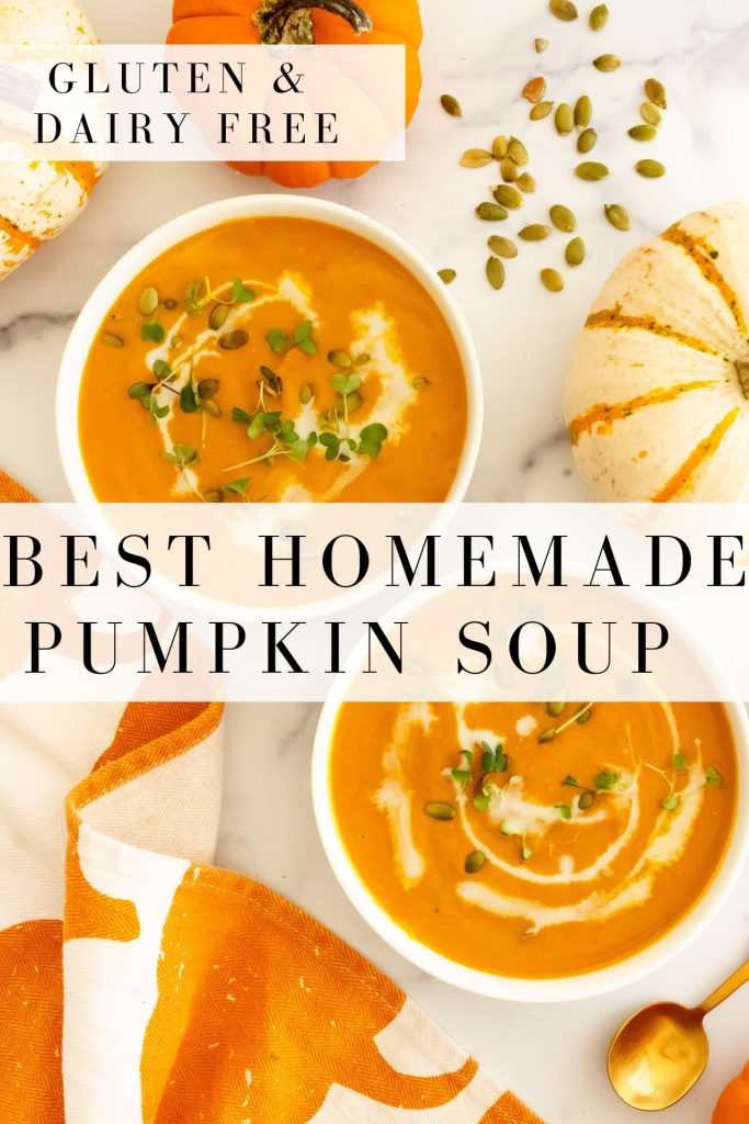 best homemade pumpkin soup