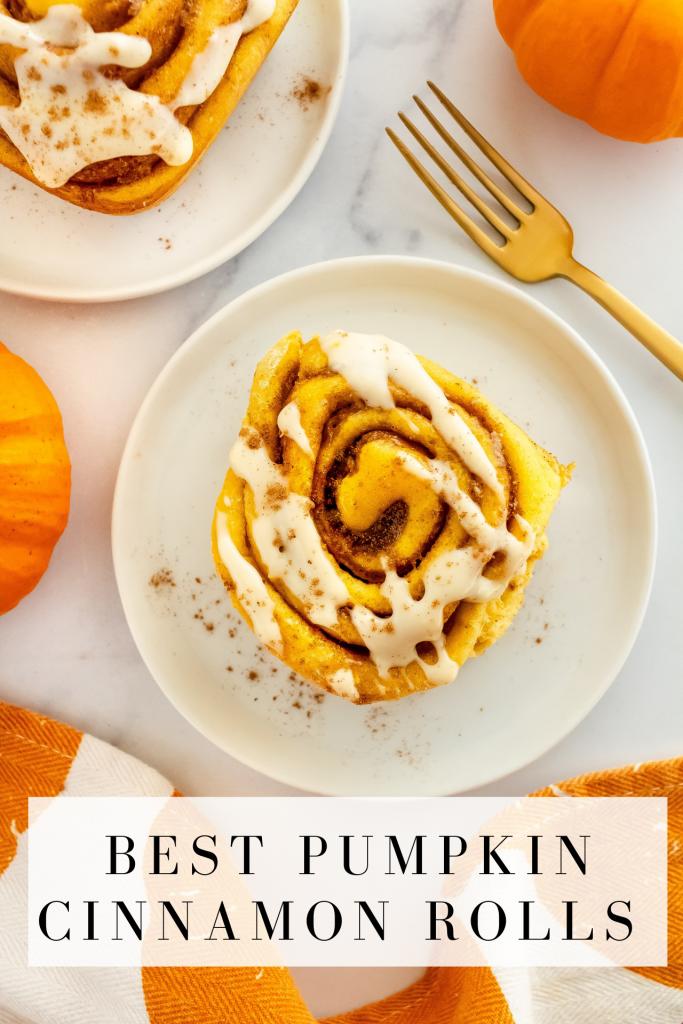 best pumpkin cinnamon rolls