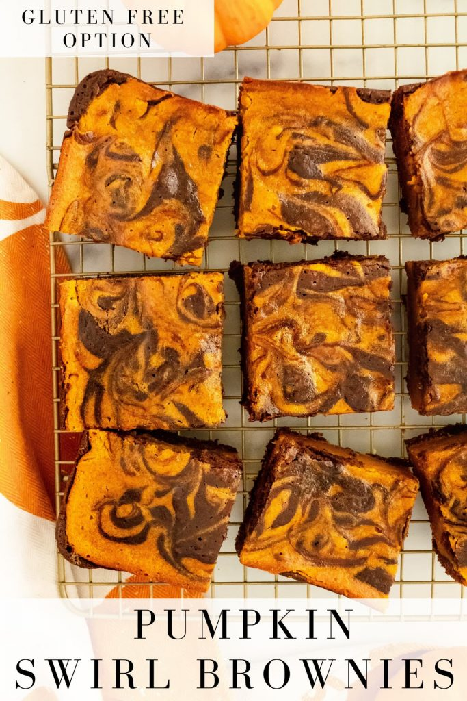 fall brownies