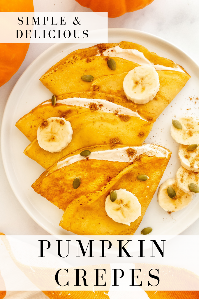 how to make pumpkin crepes