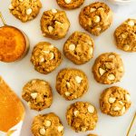 pumpkin-cookies-with-cashew-butter-and-white-chocolate-chips