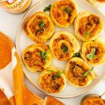 pumpkin appetizer puffs