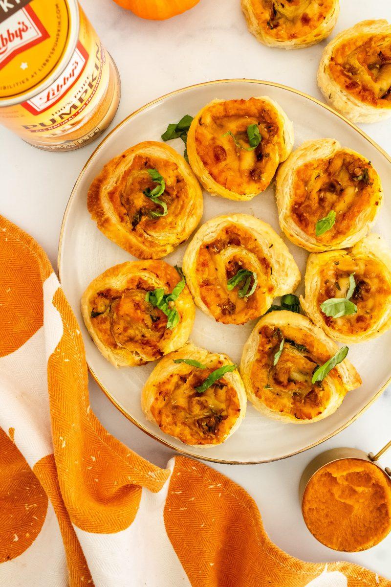 pumpkin appetizer puffs
