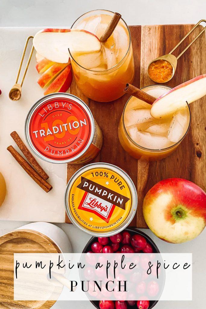 pumpkin apple spice cocktail