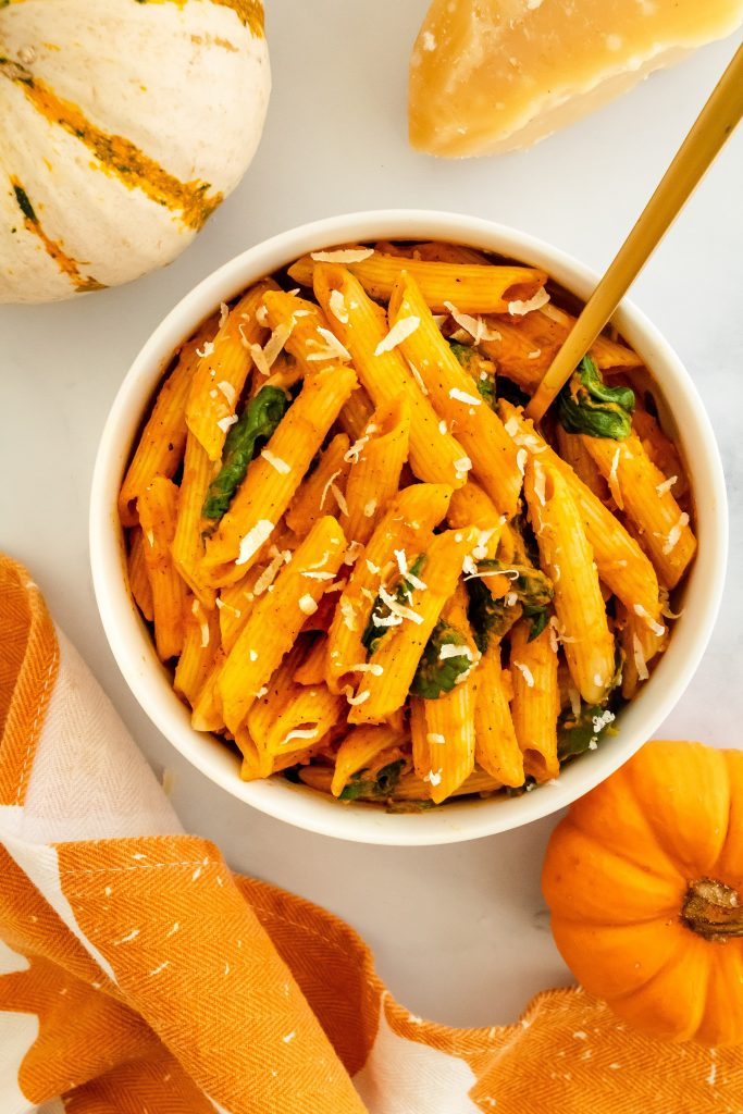 pumpkin harvest pasta sauce