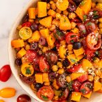 roasted chickpea and tomato salad
