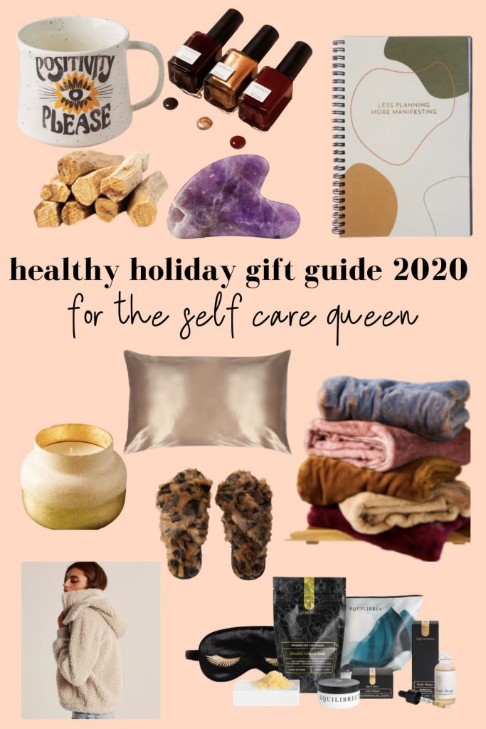 Holiday Gift Guide for the self care queen