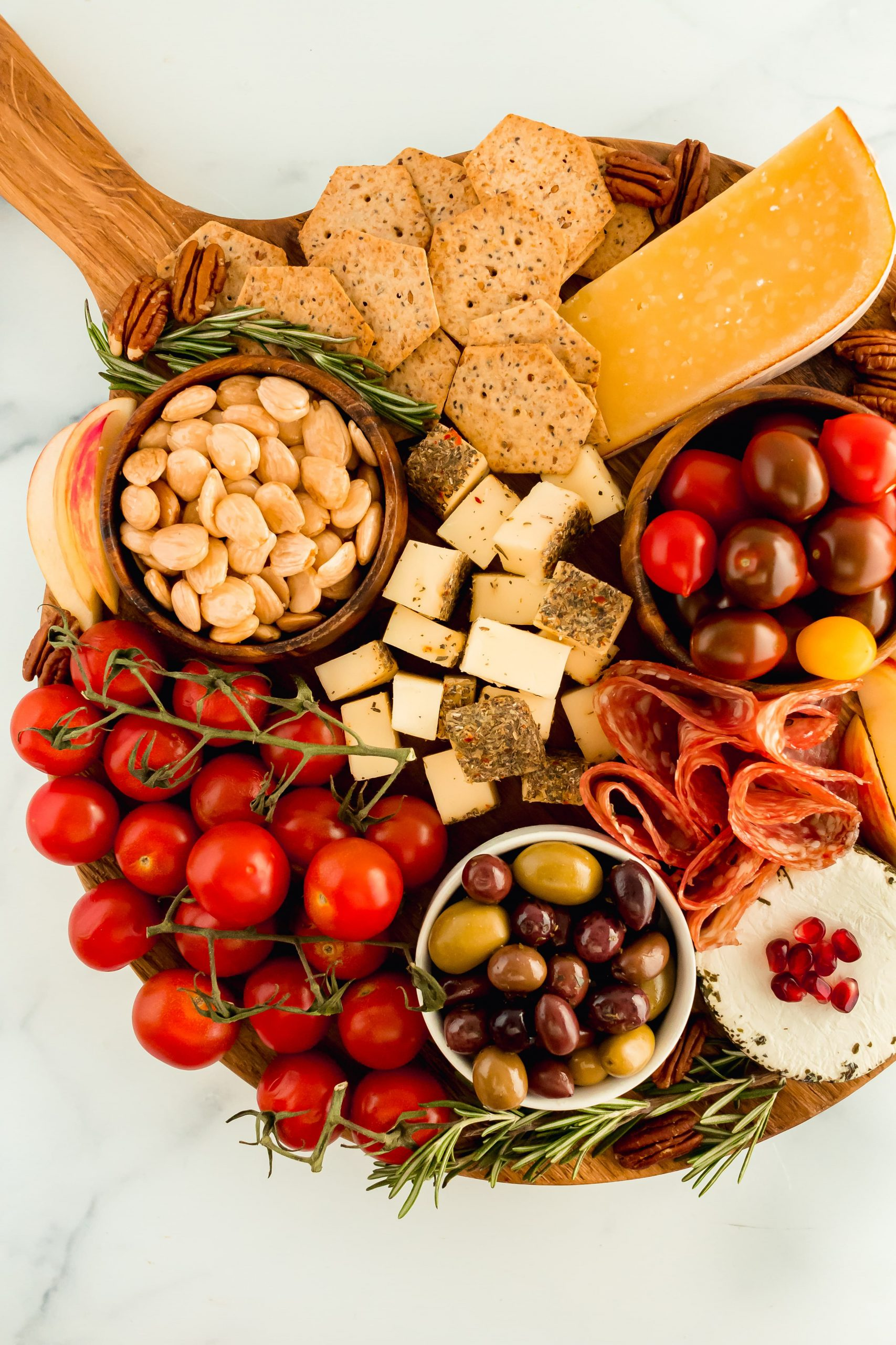 how to make a healthy charcuterie board for two people