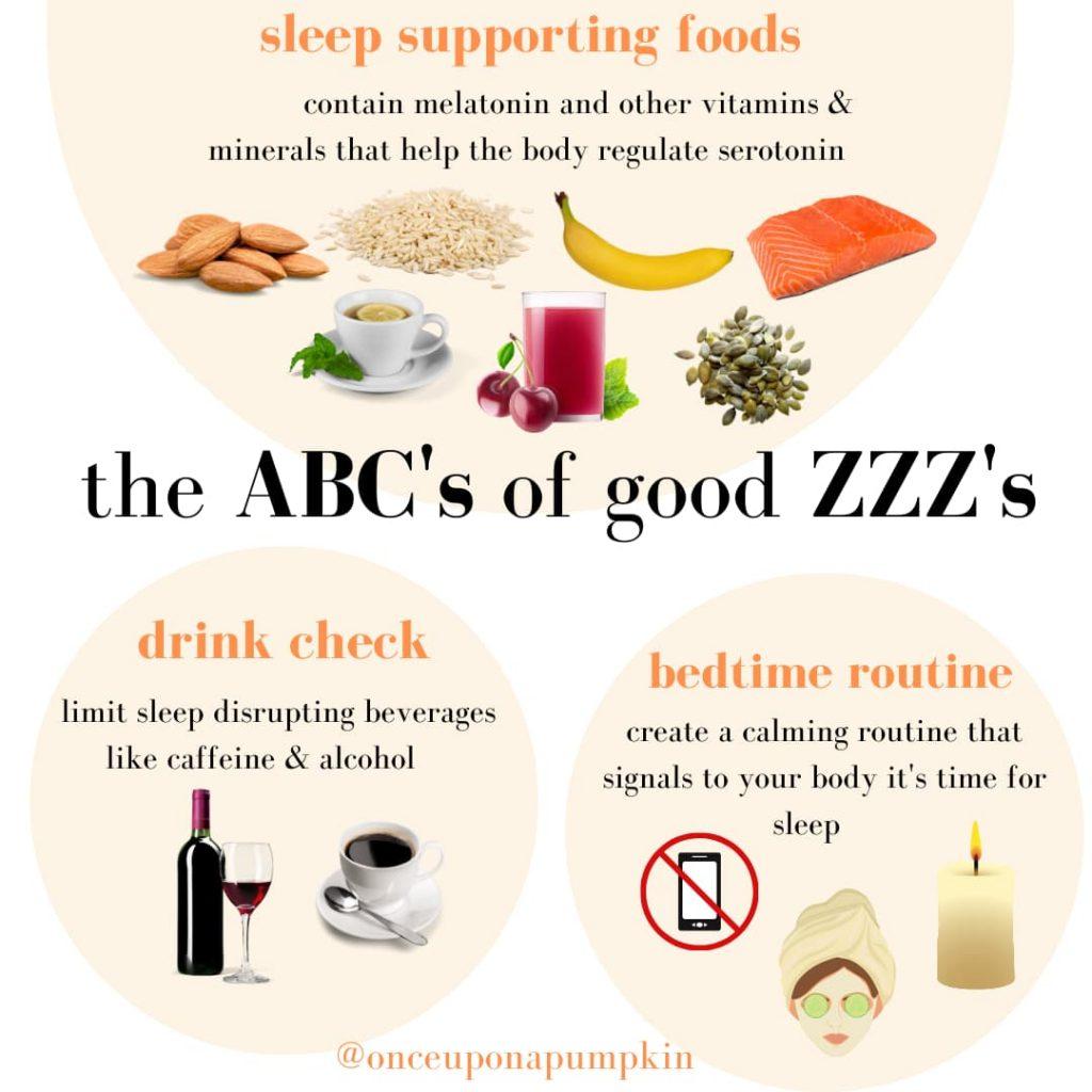 nutrition tips for good sleep
